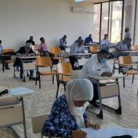 إجراء الامتحانات النهائية لمرحلتي الإجازة العالية (الماجستير) والإجازة الدقيقة ( الدكتوراه )