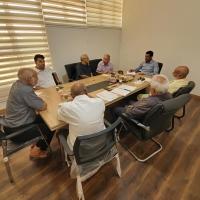 أجتماع اللجنة العلمية